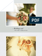 Weddings & Events Guide