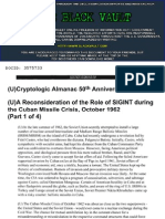 Reconsideration of the Role of Sigint Part 1