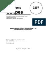 3297 DOCUMENTO CONPES
