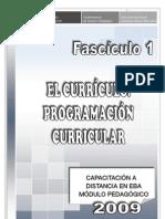 FASCICULO 1 PEDAGOGICO