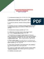 PRINCIPAIS ACONTECIMENTOS PROFÉTICOS AINDA NAO CUMPRIDOS