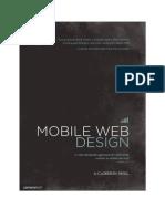 Mobile Web Design Excerpt