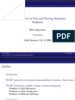 An Introduction to Free and Moving Boundary