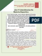 Contrastes y Coincidencias Deportivas Mario Urrego 15-08-11