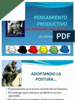 CLASE 2-  PENSAMIENTO PRODUCTIVO