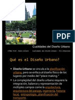 Cualidades Del Diseno Urbano