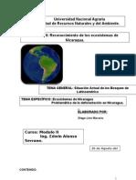 Diego Lino; situación actual de los bosques en latinoamerica