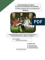 CARACTERIZACIÓN ECOLOGICA Y ESTRUCTURAL DEL BOSQUE SECO SECUNDARIO EN EL COMARCA LA CHIMPOPA.