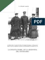 Visita de La Infanta a La Argentina 1910