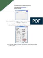 Guía para instalar MiKTeX  para poder crear archivos PDF en Termoexcel