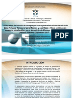 PONENCIA CASA REFUGIO TEMPORAL PARA MUJERES