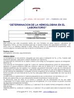 Valoracion de La Hemoglobina_rosarioalorscorrederas