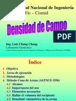 Densidad de Campo-UNI