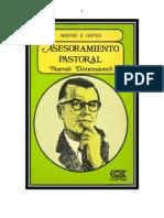 63 Wayne E. Oates - Asesoramiento Pastoral Nuevas Dimensiones