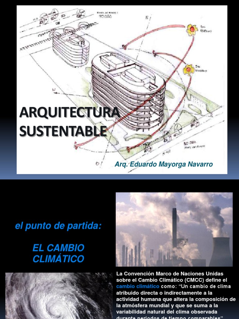 Principios de arquitectura sustentable for Arquitectura sustentable pdf