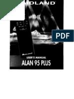 Alan 95 Plus Manual