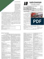 Trigésima Edição do Jornal da LO