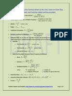 Midterm Formula