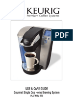 Keurig B70 Manual
