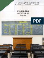 Apostila ENEM Formação Solidária 02 Gabarito