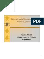 Cinesioterapia Ginastica Laboral Cynthia M. Zilli