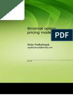 Binomial Options