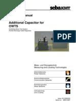 MAN OWTS-Capacitor Eng x2