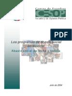 Los Programas de Abasto Social en Mexico