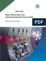 Motor TDI de 2,8 ltr. con sistema de inyección Common Rail_parte 1