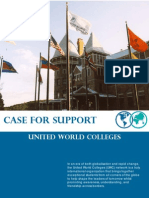 UWC Australia, Case for Support (2005)