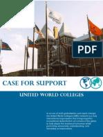UWC Australia, Case for Support (2005)