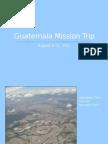 Guatemala Mission Trip-Blog