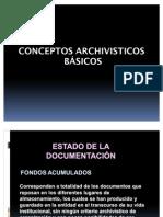 TEORIA DE ARCHIVISTICA