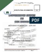 Metodos Numericos Orientado en c++