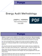 Energy Audit_Pumps JHerrera