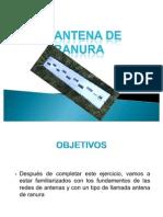 antenas de ranura
