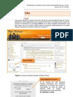 Interfaz de Cursos Virtuales