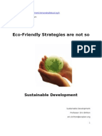 Clement Fernandez - Eco-Friendly Strategies
