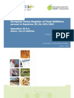 Comm Register Feed Additives 1831-03