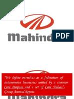 Mahindra CSR