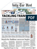 The Daily Tar Heel for August 22, 2011