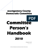 MCDC 2010 Committee Person Handbook