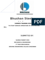 Bhushan Traioning Report 786