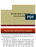 31726035 Social and Cultural Environment