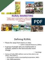Rural Mktg Intro