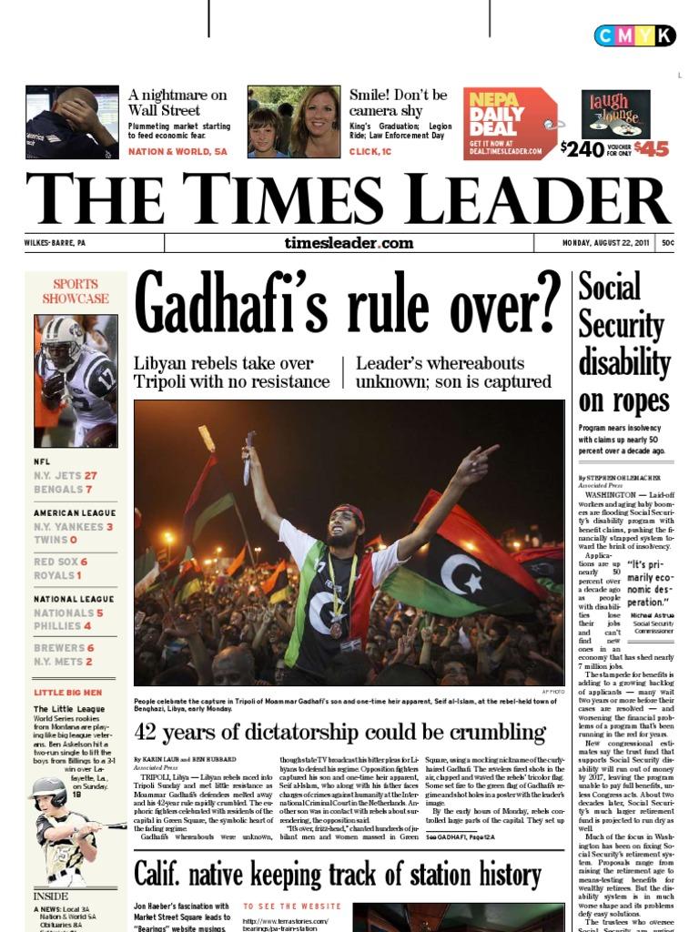 Times Leader 08-22-2011  b59c51e60d0c