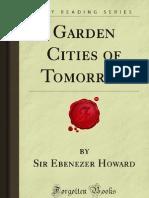 Garden Cities of Tomorrow - 9781606201862