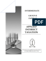 4 Applied Indirect Taxation