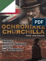 """Tom Hickman, """"Ochroniarz Churchilla"""", Wydawnictwo Replika 2011"""