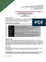 COMM101 Hybrid Workbook FA11